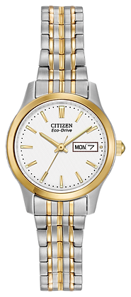 Citizen Watch Bracelet Two-Tone Expansion Stainless Steel Part #59-S03699