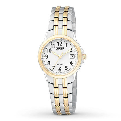 Citizen Watch Bracelet Two Tone Stainless Steel Part # 59-S04056