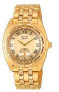 Citizen Watch Bracelet Gold Tone Stainless Steel Part # 59-H0648