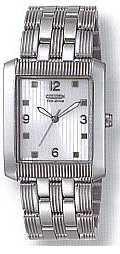 Citizen Watch Bracelet Silver Tone Stainless Steel Part # 59-H1234
