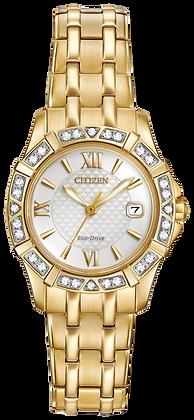 Citizen Watch Bracelet Gold Tone Stainless Steel Part # 59-S06560