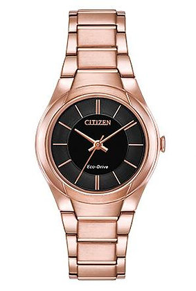 Citizen Watch Bracelet Rose Gold Tone Stainless Steel Part # 59-S06985