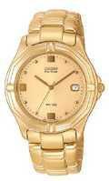 Citizen Watch Bracelet Gold Tone Stainless Steel Part # 59-H0735