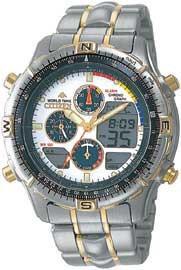 Citizen Watch Bracelet Two Tone Stainless Steel Part # 59-J0753