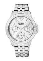 Citizen Watch Bracelet Silver Tone Stainless Steel Part # 59-S05314