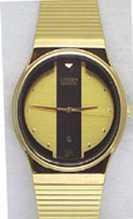 Citizen Watch Bracelet Gold Tone Stainless Steel Part # 59-K0122