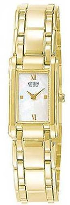 Citizen Watch Bracelet Gold Tone Stainless Steel Part # 59-H1338