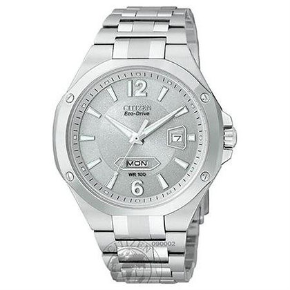 Citizen Watch Bracelet Silver Tone Stainless Steel Part # 59-S03852