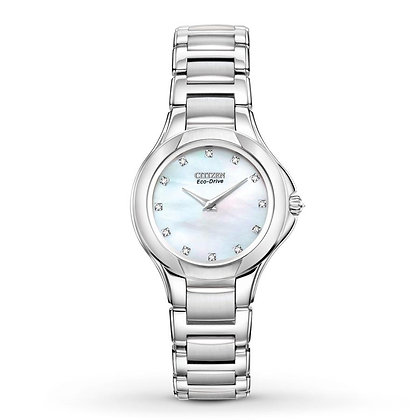Citizen Watch Bracelet Silver Tone Stainless Steel Signature Part # 59-S04945