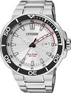 Citizen Watch Bracelet Silver Tone Stainless Steel Part # 59-S05038