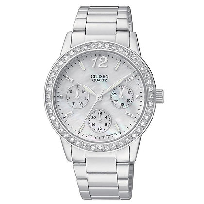 Citizen Watch Bracelet Silver Tone Stainless Steel Part # 59-ED8090-53D