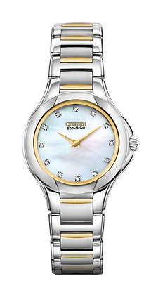 Citizen Watch Bracelet Two Tone Stainless Steel Part # 59-S05718