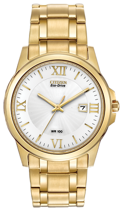 Citizen Watch Bracelet Gold Tone Stainless Steel Part # 59-S05204