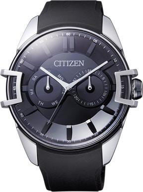 Citizen Watch Strap Black Silicon Part # 385-4078 (Clasp Sold Separately)