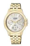 Citizen Watch Bracelet Gold Tone Stainless Steel Part # 59-S05315