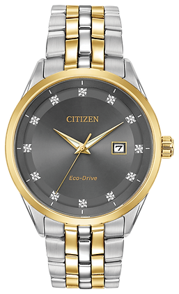 Citizen Watch Bracelet Two Tone Stainless Steel Part # 59-R00407