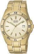 Citzen Watch Bracelet- Gold Tone Stainless Steel Part # 59-S0715