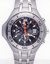 Citizen Watch Bracelet Silver Tone Titanium Part # 59-H1494