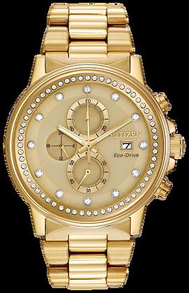 Citizen Watch Bracelet Gold Tone Stainless Steel Part # 59-S05753