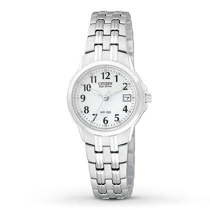 Citizen Watch Bracelet Silver Tone Stainless Steel Part # 59-S04054