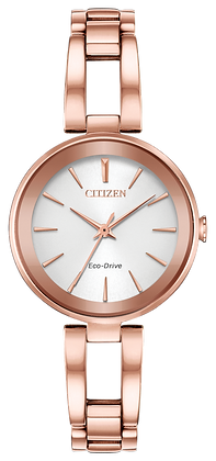 Citizen Watch Bracelet Rose Gold Tone Stainless Steel Part # 59-R00527