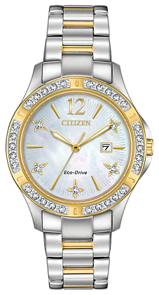 Citizen Watch Bracelet Two Tone Stainless Steel Part # 59-S07167