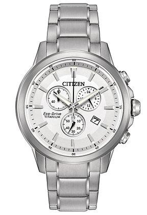 Citizen Watch Bracelet Silver Tone Super Titanium Part # 59-R00370