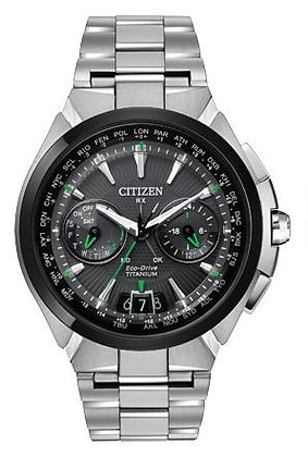 Citizen Watch Bracelet Silver Tone Super Titanium Part # 59-S05904