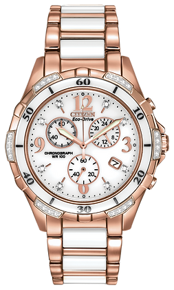 Citizen Watch Bracelet Rose Gold Tone Stainless Steel Part # 59-S06084