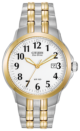 Citizen Watch Bracelet Two Tone Stainless Steel Part # 59-S04374