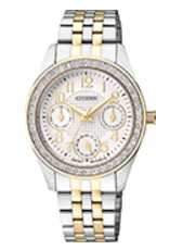 Citizen Watch Bracelet Two Tone Stainless Steel Part # 59-S05800