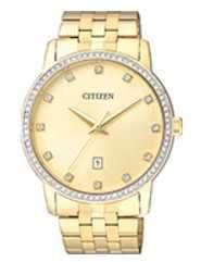 Citizen Watch Bracelet Gold Tone Stainless Steel Part # 59-BI5033-53P