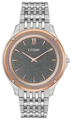 Citizen Watch Bracelet Silver Tone Stainless Steel Part # 59-T01110