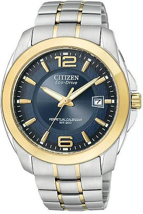 Citizen Watch Bracelet Two Tone Stainless Steel Part # 59-S04126