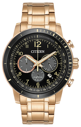 Citizen Watch Bracelet Rose Gold Tone Stainless Steel Part # 59-S06868
