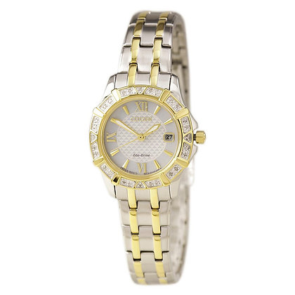 Citizen Watch Bracelet Two Tone Stainless Steel Part # 59-S06561