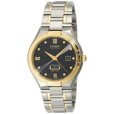 Citizen Watch Bracelet Two Tone Stainless Steel Part # 59-S03862