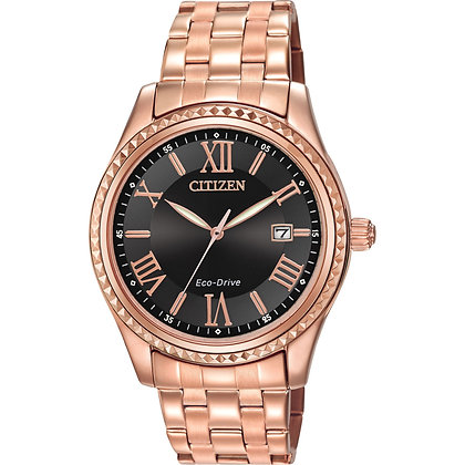 Citizen Watch Bracelet Rose Gold Tone Stainless Steel Part # 59-S05974