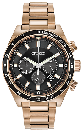 Citizen Watch Bracelet Rose  Gold  Tone Stainless Steel Part # 59-R00343