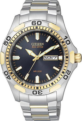 Citizen Watch Bracelet Metal  Stainless Steel   Gold Tone Part # 59-K00500