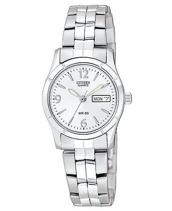 Citizen Watch Bracelet Silver Tone Stainless Steel Part # 59-S03005