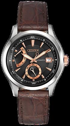 Citizen Watch Strap Brown Crocodile Leather Part # 59-T50905