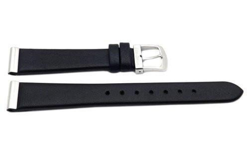 Citizen  Watch Band Black   Leather  15MM Part # 59-S50843