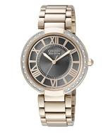 Citizen Watch Bracelet Rose Gold Tone Stainless Steel Part # 59-S04968