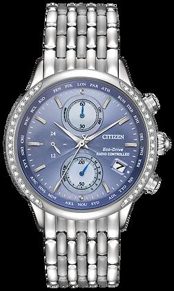 Citizen Watch Bracelet Silver Tone Stainless Steel Part # 59-S06498