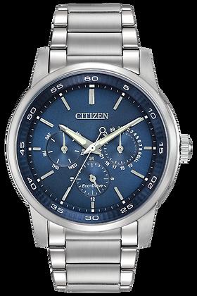 Citizen Watch Bracelet Silver Tone Stainless Steel Part # 59-S05758