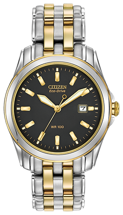 Citizen Watch Bracelet Two Tone Stainless Steel Part # 59-S04045