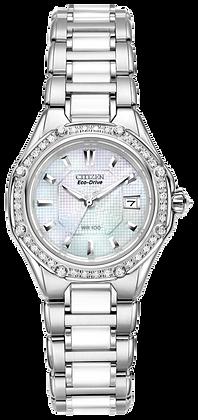 Citizen Watch Bracelet Silver Tone Stainless Steel Part # 59-S04801