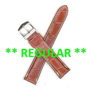 Citizen Watch Band Brown Leather 18MM Part # 59-S50263