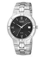 Citizen Watch Bracelet Silver Tone Stainless Steel Part # 59-S03014